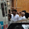 Arjun Kapoor at their grandmother Sattee Shourie's funeral!
