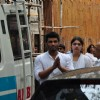 Arjun Kapoor and Anshula Kapoor at their grandmother Sattee Shourie's funeral!