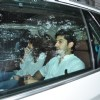 Mohit Marwah at Funeral of Arjun Kapoor's grandmother 'Sattee Shourie'