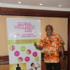 Former cricketer Vinod Kambli at Global Wellness Day Event