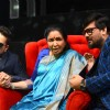 Mika Singh, Asha Bhosle & Wajid Ali on the sets of 'Sa Re Ga Ma Pa 2016'