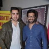 Imran Khan and Akshay Oberoi at screening of film 'The Virgins'