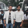 Vivek Oberoi and Riteish Deshmukh Snapped at Mehboob Studio!