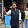 Anil Kapoor poses on the sets of 'India's Got Talent'