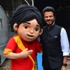 Anil Kapoor on the sets of 'India's Got Talent'