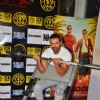 John Abraham works-out for promotions of Dishoom!