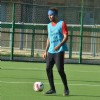 Ranbir Kapoor snapped playing football!