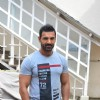 John Abraham Snapped at 'Mehboob Studio'