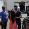 Smile for the camera! - Varun Dhawan Snapped at 'Mehboob Studio'