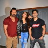 Varun Dhawan, John Abraham and Jacqueline Fernandes Promotes movie 'Dishoom'