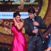 Manish Paul and Jacqueline Fernandes performing on the sets of 'Jhalak Dikhlaa Jaa'