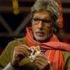 Amitabh Bachchan playing cards