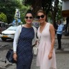 Celebs snapped outside Japenese Restaurant