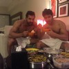 Varun Dhawan and John Abraham bonding over food