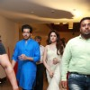 Celebs at Krish-Ramya's Wedding Reception