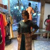 Tanishaa Mukerji Wows in Shruti Sancheti Outfit