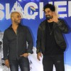 Hasan Zaidi and Rannvijay Singh at Promotion of Salute Saichen Documentary by Eros