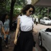 Kangana Ranaut snapped leaving Recording Studio