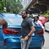 Cricketer Yuvraj Singh and Actress Pooja Hegde Snapped at PVR Theatre