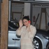 Kareena snapped outside her home