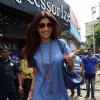 Shilpa Shetty snapped with family for lunch
