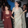 Deepika Padukone in Sabyasachi Snapped at Olive Bar