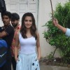 Kriti Kharbanda Snapped at Mehboob Studio