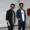 Anil Kapoor and Arjun Kapoor snapped at Mehboob Studio