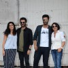 Anil Kapoor, Arjun Kapoor and Adhuna Akhtar snapped at Mehboob Studio