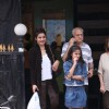 Raveena  Tandon snapped with her family!