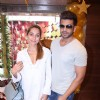 Karan Kundra and Anusha Dandekar at Launch of store IBJA Gold