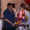 Rishi Kapoor performs Ganpati Visarjan at his Residency