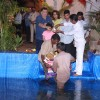 Rishi Kapoor and Neetu Singh performs Ganpati Visarjan at his Residency