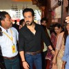 Emraan Hashmi visits Ganesh Galli with his wife