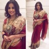 Vidya Balan wears Gaurang Shah's creation in Lucknow