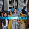 Dia Mirza at the Launch of Adhuna Bhabani's BBlunt in Malad