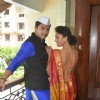 Shreyas Talpade and Manjari Fadnis at Wah Taj Interviews