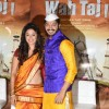 Manjari Fadnis and Shreyas Talpade at Trailer Launch of 'WAH TAJ'