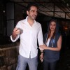 Esha Deol snapped with husband Bharat Takhtani in Bandra