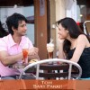 Sharman and Yuvika sitting in coffee shop | Toh Baat Pakki Photo Gallery