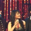 Aditi Singh Sharma with Sonu Niigam and Shah Rukh Khan