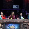 Ajay Devgn with Shilpa Shetty, Anurag Basu and Geeta Kapur at Super Dancer
