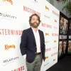 Zach Galifianakis at Hollywood premiere of the movie Masterminds