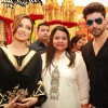 Sana Khan and Gurmeet Choudhary Inaugurates 'Akriti Exhibition'