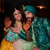 TV Actors Kishwer Merchant and Suyyash Rai's Mehendi Ceremony