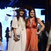 Manasi Scott and Sona Mohapatra at Lakme Fashion Week 2017 Day 1