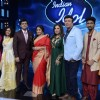 Sonakshi Sinha and Vidya Balan on the sets of Indian Idol