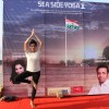 Pink actress Kirti Kulhari performs YOGA