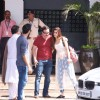 Kriti Sanon-Saif Ali Khan meet each other post Polo-match!