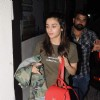 Alia Bhatt Snapped at PVR theatre, Juhu